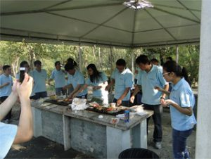 BBQ во Gucun Park, есен 2014