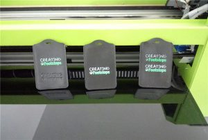 Црно сечење примерок образец за печатење од WER-EP6090UV