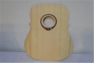 Дрво гитара примерок од А2 големина УВ принтер WER-DD4290UV