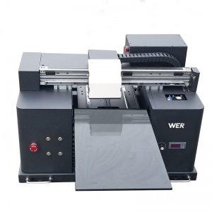 евтина цена DTG дигитална рамно лежиште A3 големина директно на принтер за печатење WER-E1080T